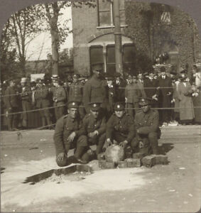 WW1 Southend, England. Unexploded Bomb Dropped By German Zeppelin on Southend