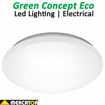 Mercator Peyton 30w LED Oyster Ceiling light Cool or Warm White Dimmable IP44