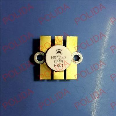 5PCS RF//VHF//UHF Transistor MOTOROLA//ASI MRF247 CASE-316-01