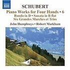 Franz Schubert - Schubert: Piano Works for Four Hands, Vol. 6 (2012)