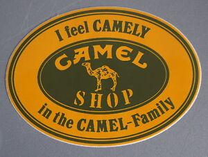 Promotional Stickers Camel Shop I Feel Camely Trophy Land Rover Outdoor 80er