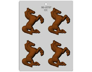Horse Prancing Chocolate Mould or Soap Mould