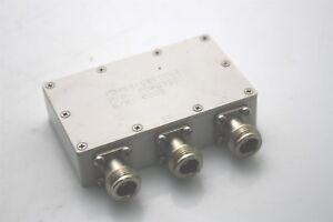 Microwave-RF-Power-Divider-PDR03501-3x-N-Type-Female-RF1113