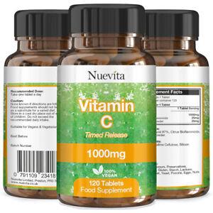 La-vitamina-C-x-360-comprimidos-Vegano-1000mg-de-alta-resistencia-Vitamina-C-Tiempo-De-Liberacion