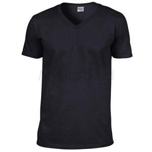 Gildan-Softstyle-V-Neck-T-Shirt