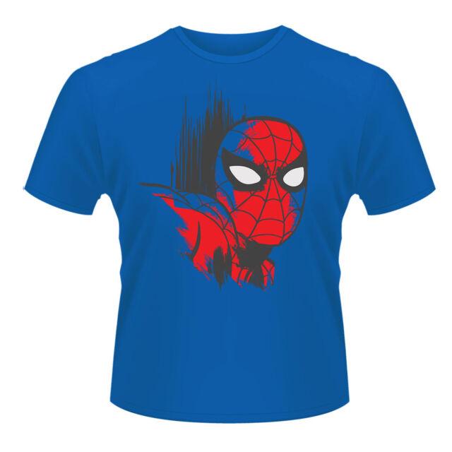 T-shirt HOMME BLEU MARVEL COMICS SPIDERMAN Taille S XXL 2XL superman hulk