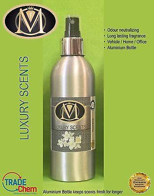 Generoso Air Freshener Luxury M Range In Aluminium Bottle Flowers