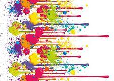 PVC Revêtement Vinyle Lambroflex Paintball éclaboussure Nappe Essuyer