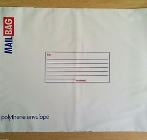 25x NEW - PARCEL POLY MAIL BAGS - SMALL 16cm x 23cm - Post Postal Mailing Bag