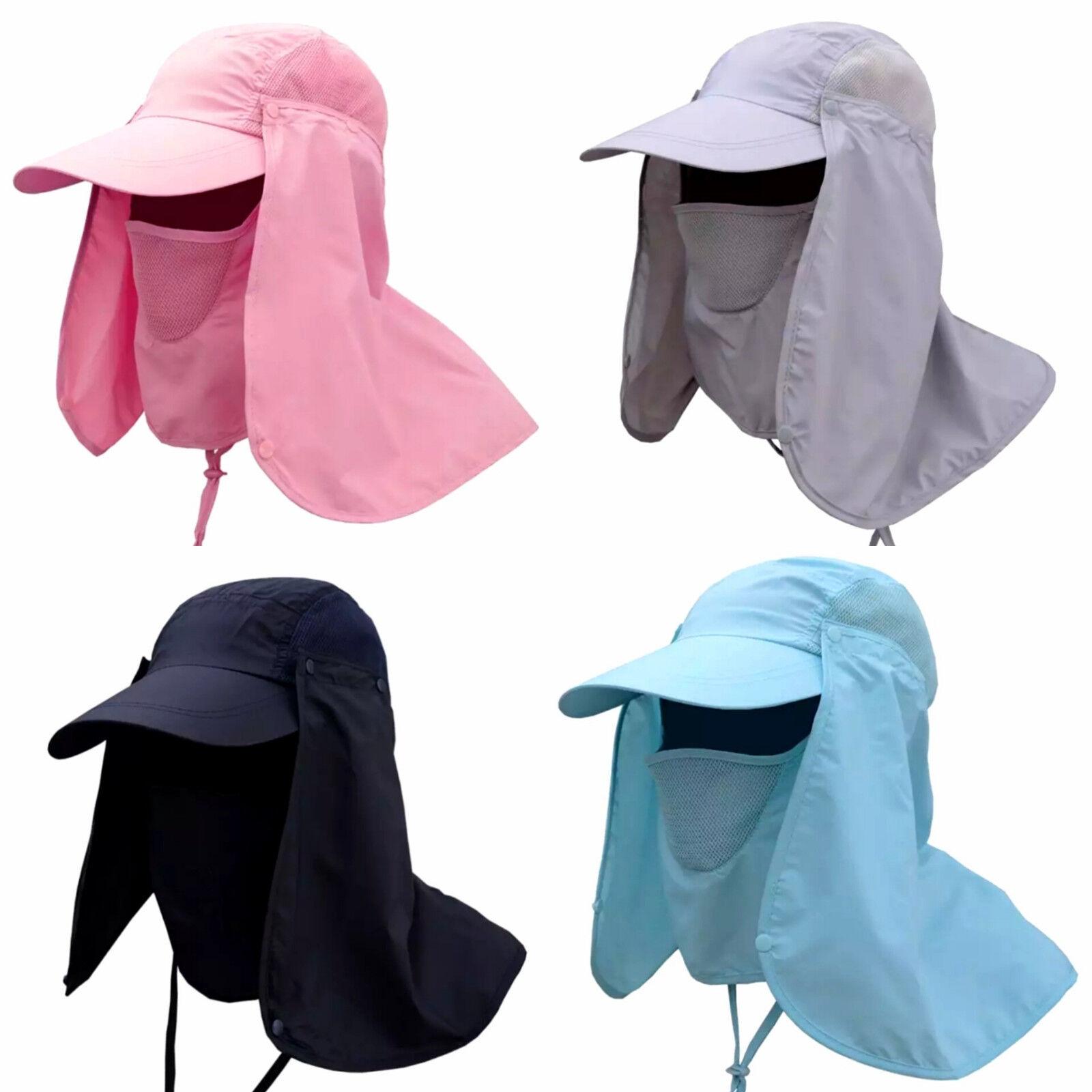 Gorra protección protección protección facial protección cuello outdoor protección solar Safari cap cuello de protección  tienda en linea