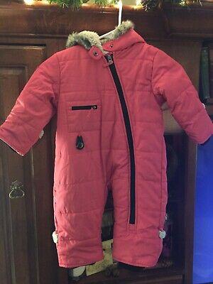18-24 Months GIRLS PINK Snowsuit FAST FREE SHIPPING  Mon Joli Brand