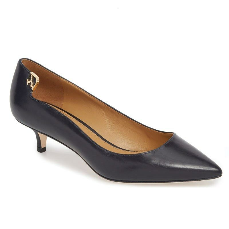 NIB Tory Burch Elizabeth Größe Pump Leather Perfect Navy Größe Elizabeth 6, 8  278 68264c