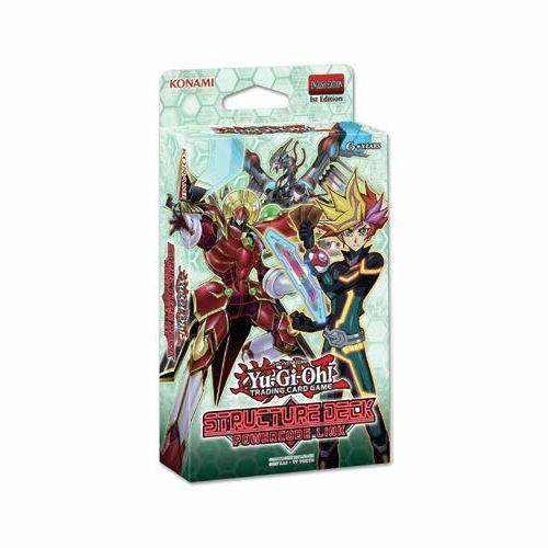 YUGIOH TCG POWERCODE LINK ENGLISH STRUCTURE DECK STARTER (43 cards)
