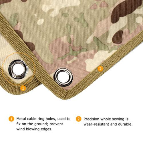 Schießmatte Sniper Scharfschützen Unterlage Outdoor Kissen Picknick Matte NEU