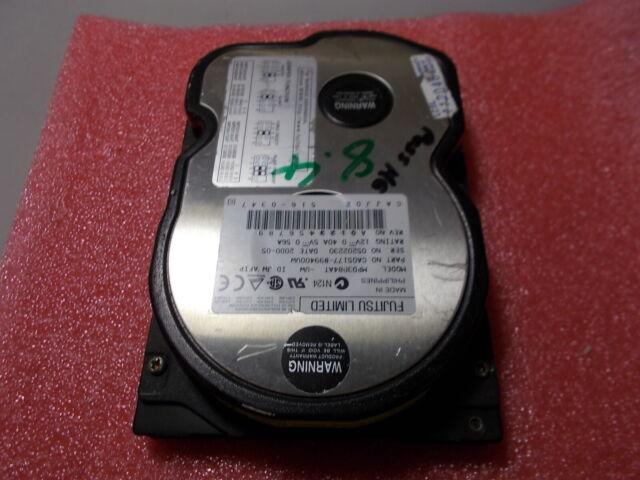 """Fujitsu MPE3084AT 8.4Gb 3.5"""" IDE Hard Drive 5400rpm-formattato CA05177"""