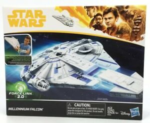 "Hasbro Star Wars 3.75/"" Solo Movie Force Link 2.0 Millennium Falcon//New In Box"