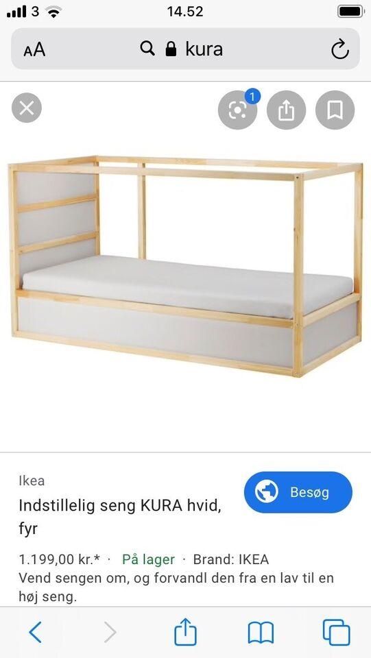 Køjeseng, Kura, b: 90 l: 2000