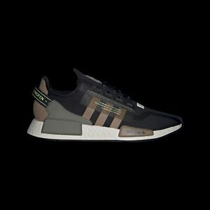 Details about Adidas NMD R1 V2 Core Black Core Black Cardboard Sneakers Shoes Trainers Size 7