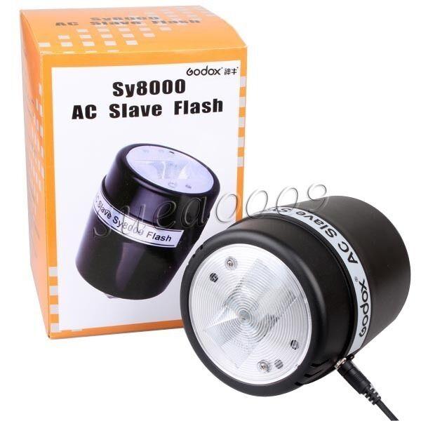 Godox Indoor Studio Strobe Light Sy8000 AC Slave Flash Bulb E27 72W 220V