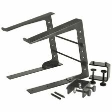 Citronic Compact Laptop DJ Stand With Desk Clamps