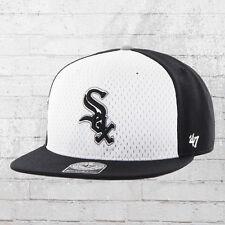 47 Brand Baseball Cap MLB Chicago White Sox Snapback Basecap schwarz weiß Mütze