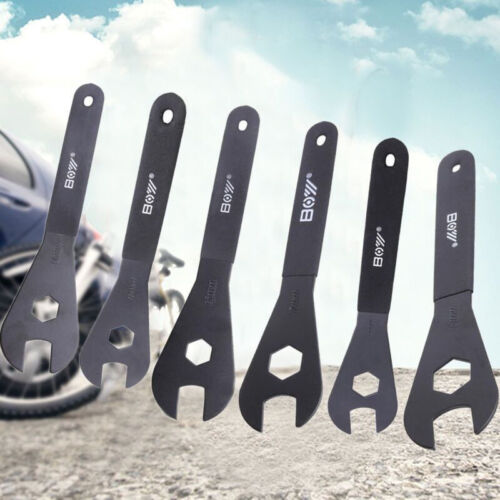 18mm Cone Spanner Wrench Spindle Axle Bicycle Bike Tool US Spanner Size 13mm
