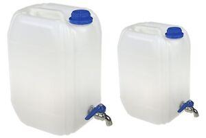 Wasserbehaelter-Hahn-Wasserkanister-Behaelter-Trinkwasserkanister-Kanister-10-20-L
