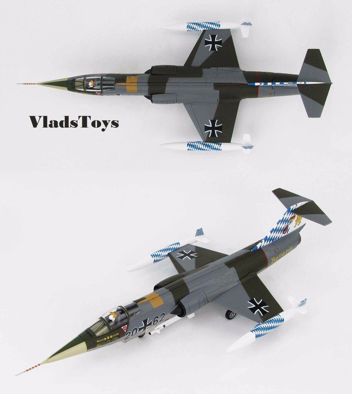 Hobby Master 1:72 F-104G Starfighter LUFTWAFFE JG 32 2062 25th HA1035 Ann.