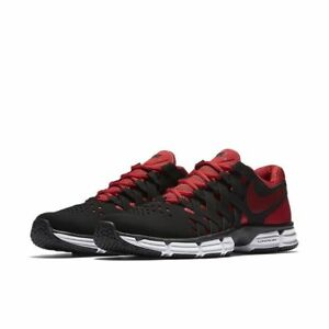 newest edee2 8a315 Nike Men's Lunar Fingertrap TR Running Shoes 898066 006 Black//Gym Red Size  11