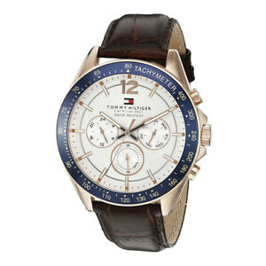 Tommy-Hilfiger-Brown-Mens-Analog-casual-Luke-1791118
