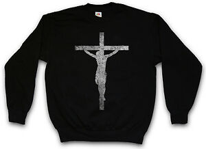 Cross Jesus Cross Christian Sweatshirt Pullover Messiah Christianity qddRC