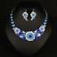 Women-Fashion-Bib-Choker-Chunk-Crystal-Statement-Necklace-Wedding-Jewelry-Set thumbnail 43