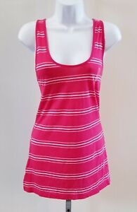 Gap-NWT-Womens-Size-XL-Red-White-Striped-Scoop-Neck-Tank-Top-Shirt