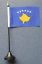 """6/"""" x 4/"""" flag Countries I-L. Desk Table flag with plastic pole /& base"""
