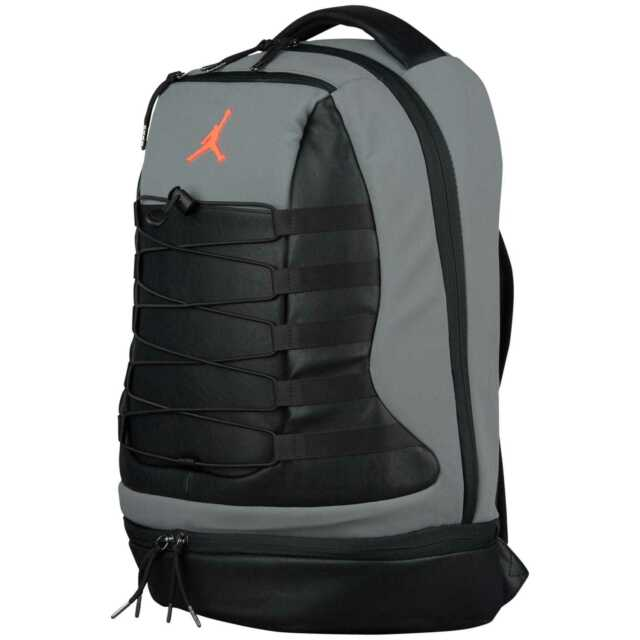 8f979ee7e1fa Frequently bought together. Nike Air Jordan Retro X 10 Backpack Cool Grey  Black Infrared Red ...