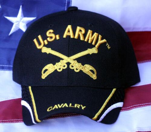 CAVALRY US ARMY HAT CAP VETERAN RETIREMENT GIFT CROSSED SABERS WOWAH PIN UP WOW