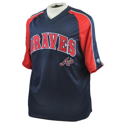 Sport Herrlich Mlb Echt Fan Atlanta Braves Leicht Lizenziert Authentisch Baseballtrikot L Dinge Bequem Machen FüR Kunden Weitere Ballsportarten