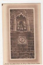 Mathew The Miller Clock, St. Marys Steps Church Exeter, J. Welch Postcard, M030