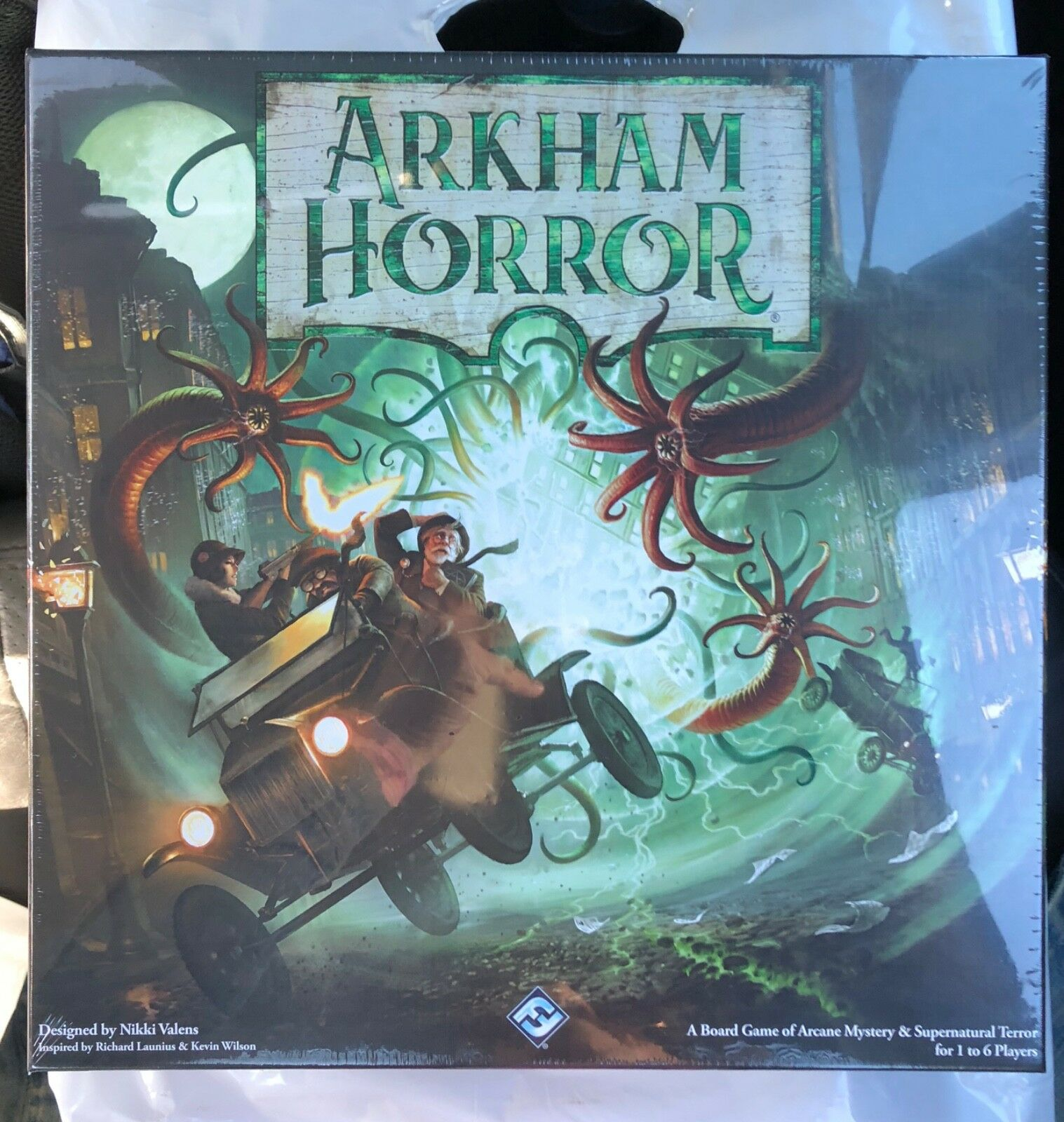 Arkham Horror 3rd Edition Core Set with Deluxe Rulebook