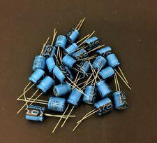 *NOS!* 5x 330 UF 25V 85°C Aluminium Electrolytic Capacitors RE331M1EBK100125
