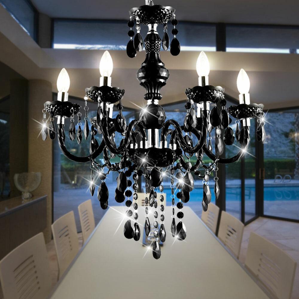 Kronleuchter Decken Hänge Lampe Luster Beleuchtung Bad