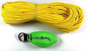 Weaver Arborist Throw Kit 16oz Neon Green 0898329NG 08-98329-NG Rigging Bag