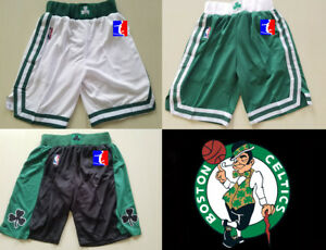 Boston-Celtics-NBA-SHORTS-PANTALONCINO-swingman-S-gt-XXL-Bird-Garnett-Thomas