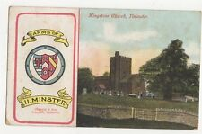 Kingstone Church Ilminster 1906 Postcard 0982