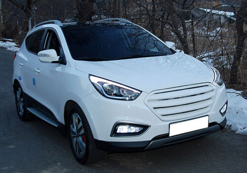 Details about  /Front Radiator Hood Grille Hyper Metallic WJX for 2014 Hyundai Tucson ix35