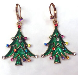 Image Is Loading Butler And Wilson Crystal Enamel Hook Christmas Tree
