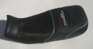 HONDA TRANSALP XL600V 1987-1999  Custom Hand Made Black Seat Cover