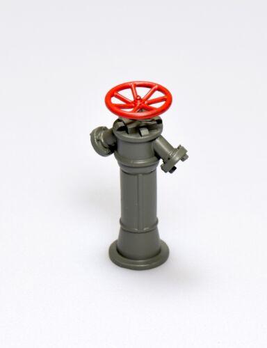Dingler Hydrant Messing grau lackiert 1:32 (1Z-184/02)