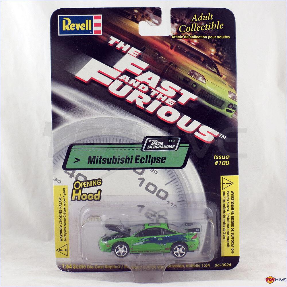 The Fast and Furious 1 64 skala Mitsubishi Eclipse av Revell emission tärningskast