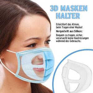 20/10/5 Masken Abstandshalter Atemhilfe 3D Mund Nasen Masken Halter Mundschutz